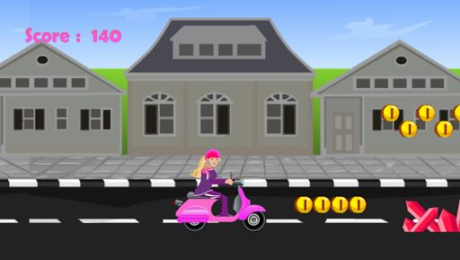 Miss Barbie Scooter Ride 6