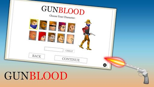 Western Cowboy Gun Blood 2 6