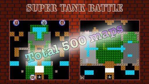 Super Tank Battle – 500 map 6