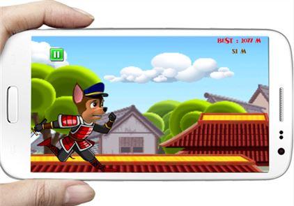 Paw Run ninja Patrol samurai 2