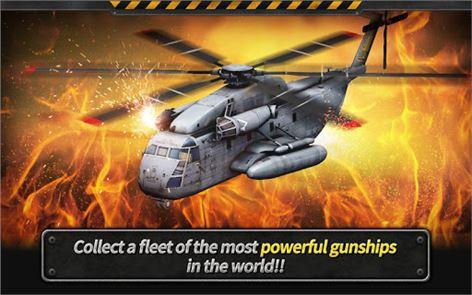 GUNSHIP BATTLE: Helicopter 3D 2