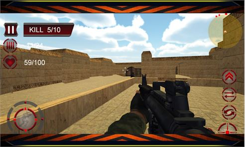 Counter Terrorist Attack 3D 3