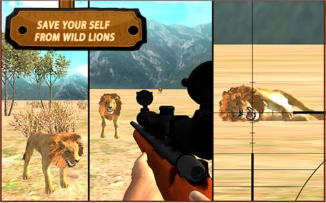Lion Hunting Challenge 3D 6