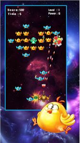 Space Attack: Chicken Shooter 6