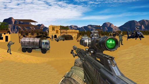 Sniper Desert Action 4
