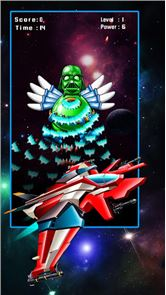 Space Attack: Chicken Shooter 4
