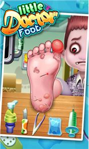 Little Foot Doctor- kids games 1