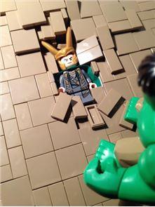 Toy Puzzle Superheroes 1