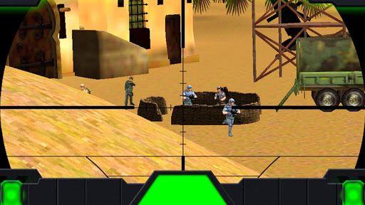 Sniper Desert Action 5