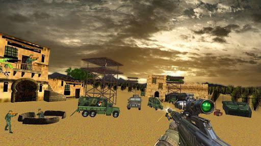 Sniper Desert Action 6