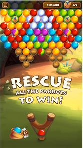 Forest Bubble Shooter Rescue 6