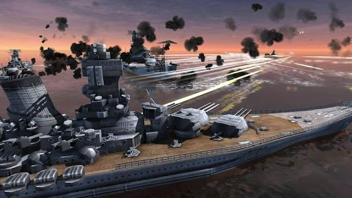 World Warships Combat 4