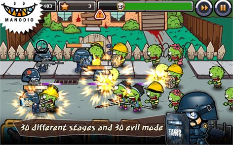 SWAT and Zombies 4