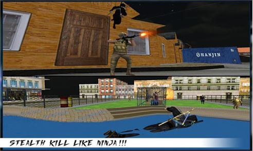 City Ninja Assassin Warrior 3D 2
