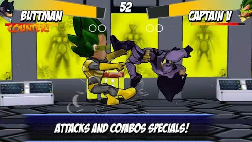 Superheros Free Fighting Games 2