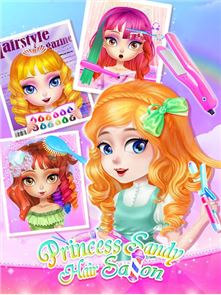 Princess Sandy-Hair Salon 1