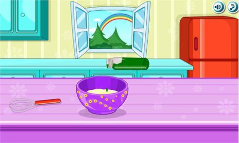 Cooking Rainbow Birthday Cake 3