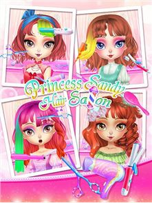 Princess Sandy-Hair Salon 3