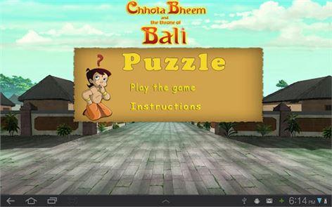 Bheem puzzle Game 4