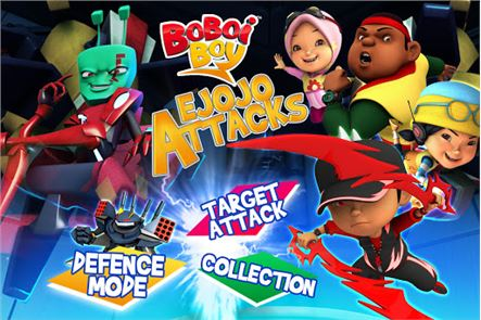 BoBoiBoy: Ejojo Attacks 1