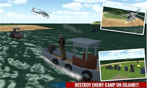 Navy Police Speed Boat Attack 1