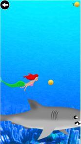mermaid swimming underwater 3