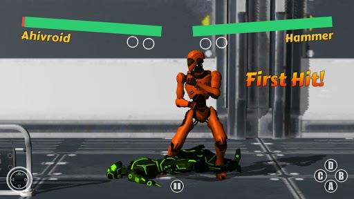 Street Robot Fighting HD 3D 2