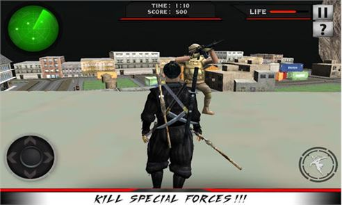 City Ninja Assassin Warrior 3D 5
