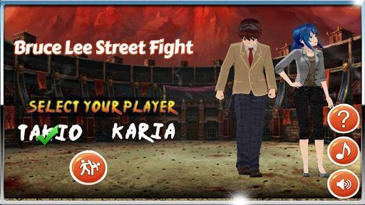 Bruce Lee Street Fight 3