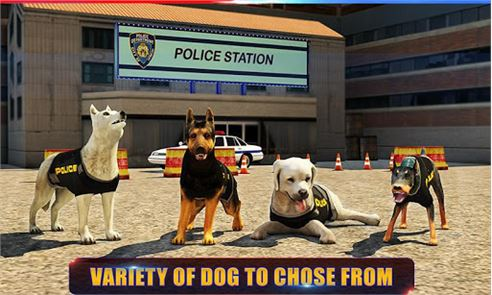 Police Dog 3D : Crime Chase 4