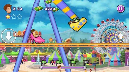 Roller Coaster : Thrill Rush 3