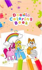 Doodle Coloring Book 1