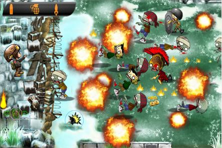 Zombies vs Soldier HD 6