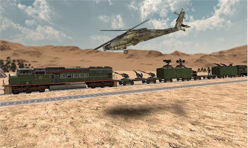 Train Attack 3D 3