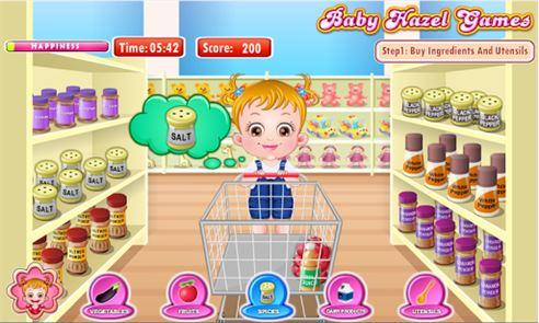 Baby Hazel Kitchen Time 6