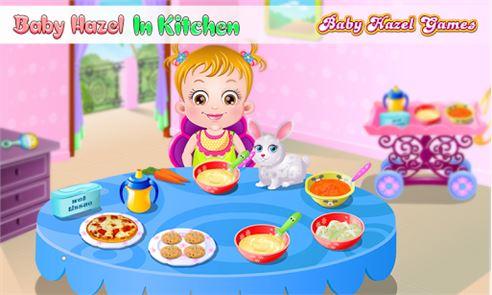 Baby Hazel Kitchen Time 5