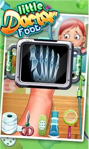 Little Foot Doctor- kids games 2