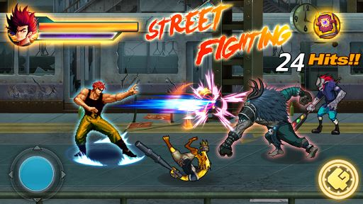 Street Fighting:City Fighter 2