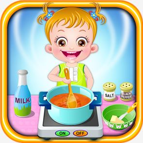 Baby Hazel Kitchen Time 4