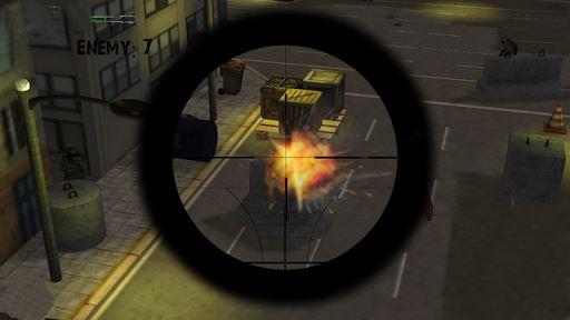 Army Sniper Duty Street War 4