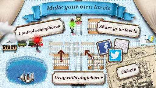 Rail Maze 2 : Train puzzler 2