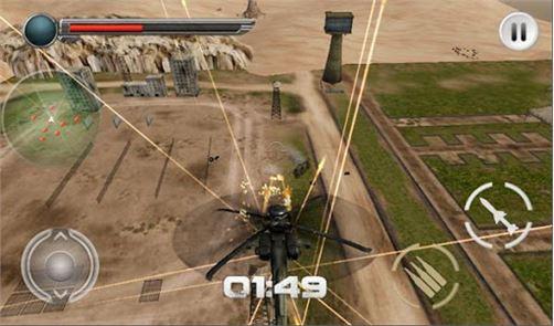 Modern Helicopter Tank War 3D 3