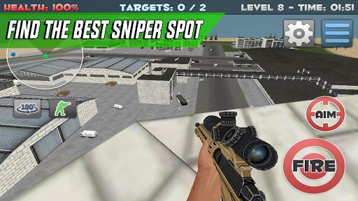 Sniper Shooter Assassin Siege 4