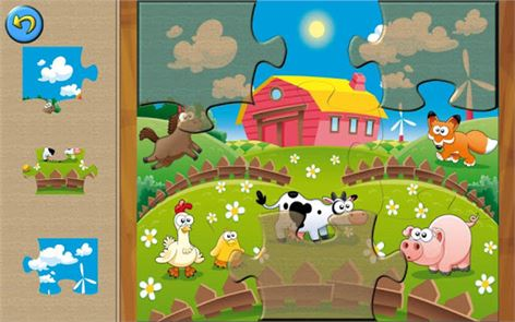 Farm Animal Puzzles for Kids 3