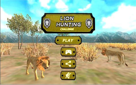 Lion Hunting Challenge 3D 1