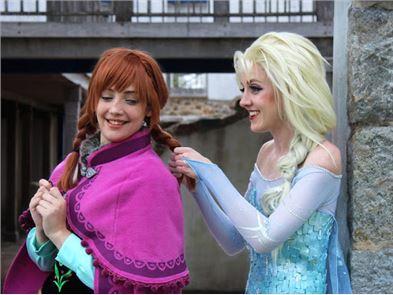 Anna Elsa Puzzle 3