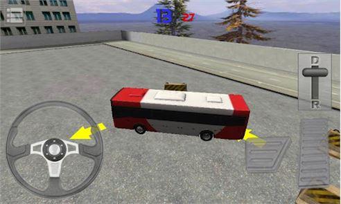 Bus Parking 3D 3