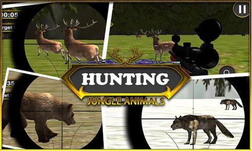 hunting Jungle Animals 1