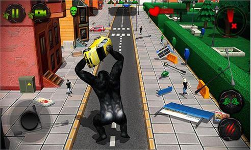 Ultimate Gorilla Rampage 3D 3