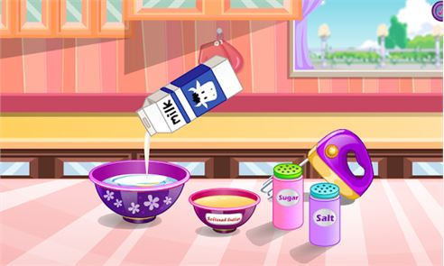 Donuts cooking games 1